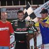 Checker Flag at Boone Co. Raceway Ne.
