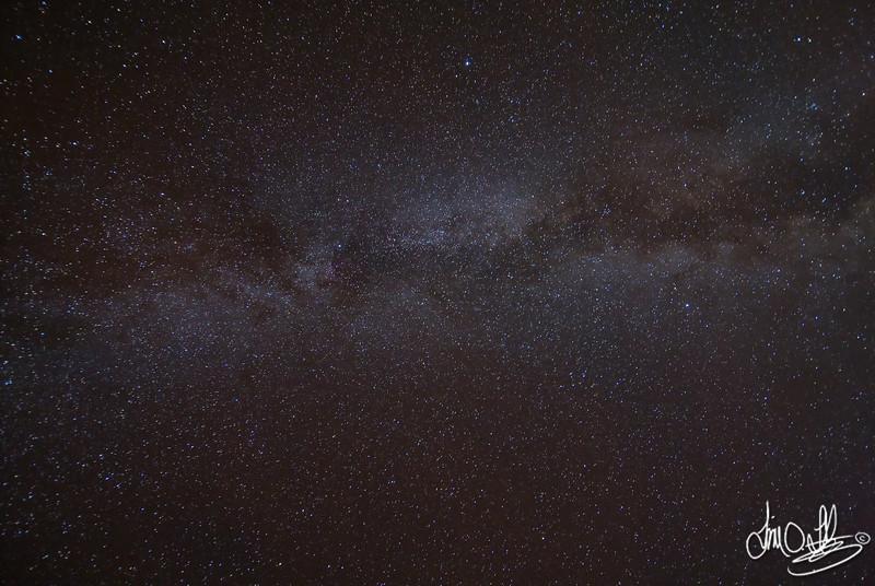 Milky Way as seen from Joshua Tree, CA