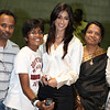 Telugu Actress Ileana with her fans at ATA meet in Atlanta on 8th july2012...pic Mohammed Jaffer-SnapsIndia