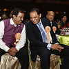 Mohammed Azheruddin former skipper and MP ,  Madhu Yaskhi Goud MP during American Telugu Association 12th Conference and Youth convention Georgia World Congress Center on july6th 2012...pic Mohammed Jaffer/SnapsIndia