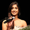 Young telugu actress Ileana speaking at American Telugu Association 12th Conference and Youth convention  Georgia World Congress Center on july6th 2012...pic Mohammed Jaffer/SnapsIndia