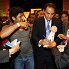 Mohammed Azheruddin former skipper and MP signing autographs during American Telugu Association 12th Conference and Youth convention Georgia World Congress Center on july6th 2012...pic Mohammed Jaffer/SnapsIndia