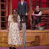 "Mark Maynard | for The Herald Bulletin<br /> Jennie (Kayla Brandt) discovers that Thomas Bouche (Cameron Gamble) has received the approval of her father (Isaac Derkach) to take her to the local dance in ""Down in the Valley."""