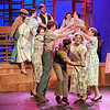 "Mark Maynard | for The Herald Bulletin<br /> Ensemble members dance in a scene from the opera ""Down in the Valley."""