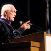 Carl Erskine gives the Commencement Address at Anderson University on Saturday.