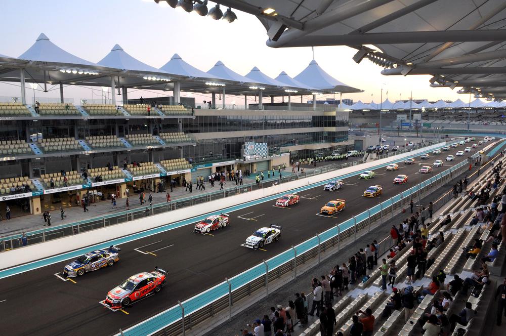 THE V8 SUPERCARS START REVVING THEIR ENGINES