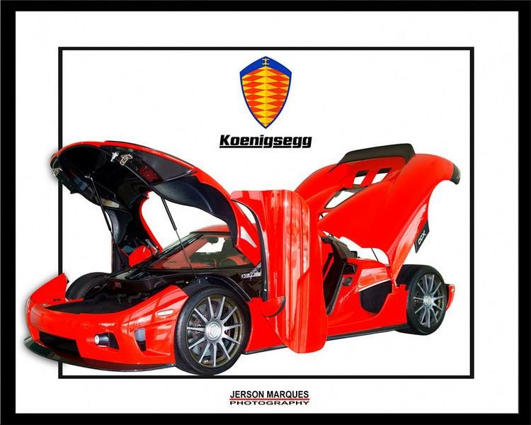 Koenigsegg Frame