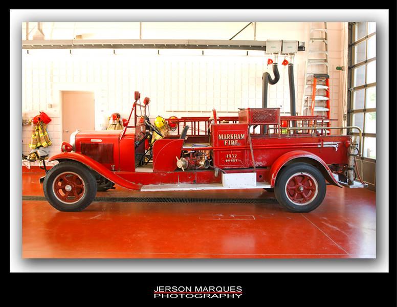 1932 MARKHAM FIRE BRIGADE - CANADA