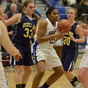 J.S.Carras/The Record  Averill Park against Shaker during first quarter of high school girls basketball action Tuesday, January 21, 2014 at Shaker High School in Latham, N.Y..