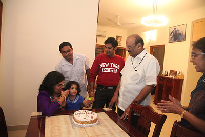 Aanya 2nd Bday - Hyderabad