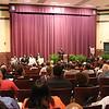 President Hugine addresses audience. (1)