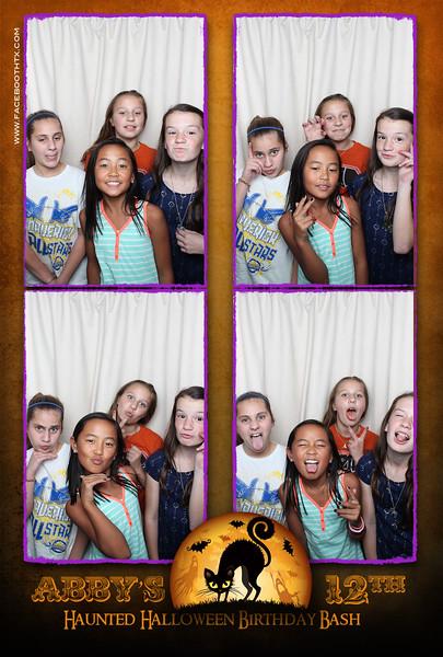 Abby's Haunted 12th Birthday