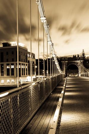 The Old Suspension bridge