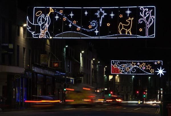 Union Street Christmas lights
