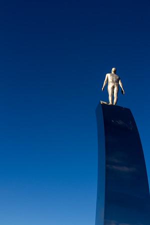 Steinnun's sculpture - single figure