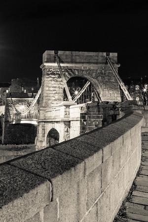 Suspension bridge, Aberdeen