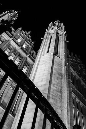 Marischal College by night