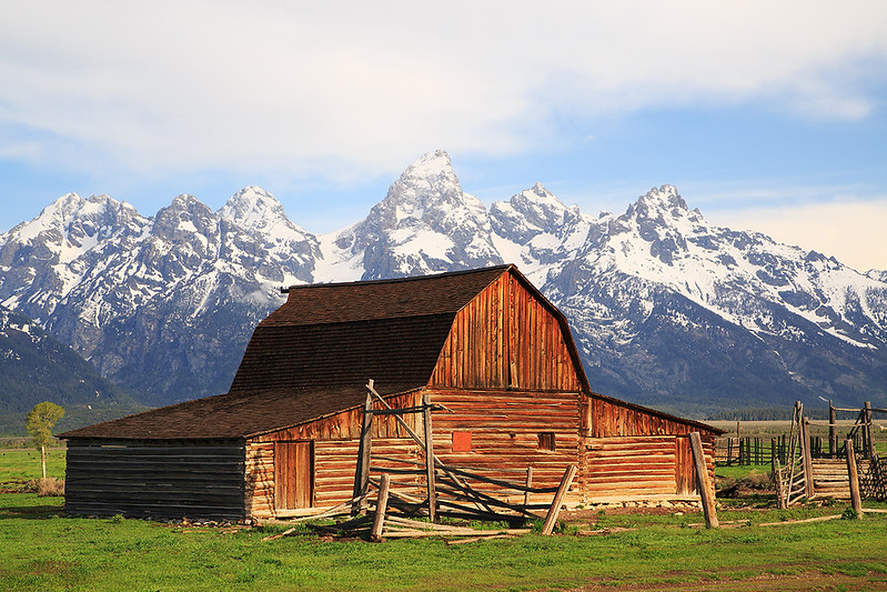 Mormon Row at Grand Teton