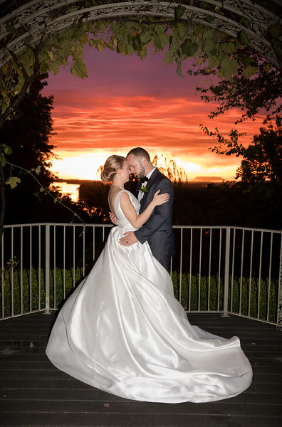 Beautiful sunset during our May 27th wedding. Its been a very busy year so far for 2017, weddings nearly every Saturday