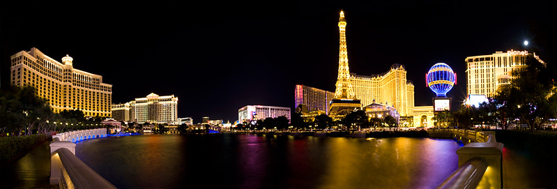 Vegas Panoramic combination of multiple images to make a super wide view.