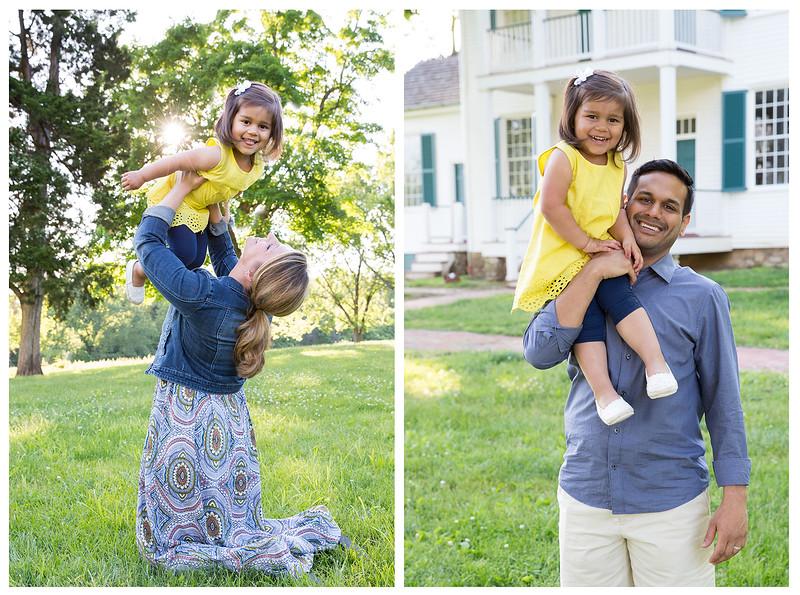 Jen and Nav family pics
