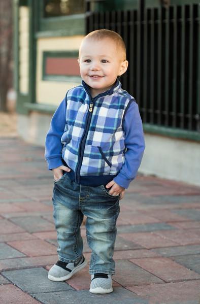Little Lukas at 16 months