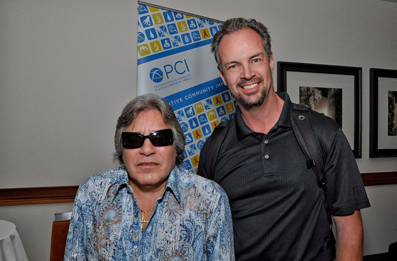 PCI fund raising event. Jose Feliciano lead entertainer that evening. His show is outstanding and very entertaining.