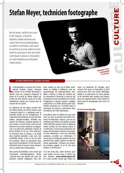 """Un article dans le Moutier.ch <br /> <br /> Voir le PDF complet ici : <br /> <br />  <a href=""""http://www.moutier-magazine.ch/editions-pdf.html"""">http://www.moutier-magazine.ch/editions-pdf.html</a>"""