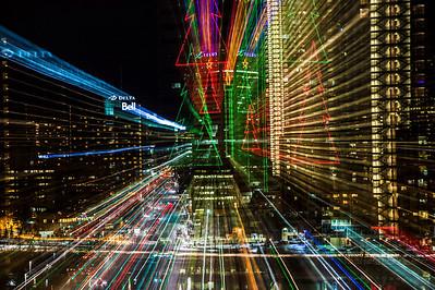 Telus zoomed during exposure.