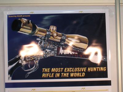 Of course!  One must have a diamond encrusted rifle.