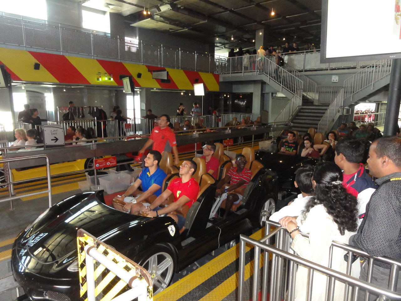 One of the fast rides here.  This is the second fastest.  No pics of the fastest as no time!!!