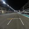 The starting grid - Yas Marina Circuit