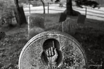 This Bar Harbor gravestone provides a subtle reminder.