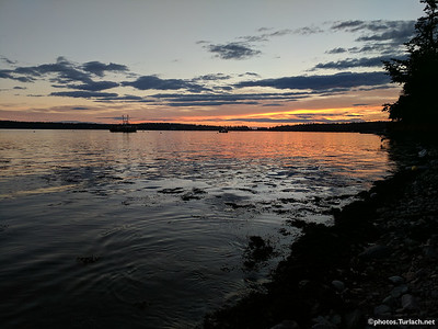Sunset in Bass Harbor
