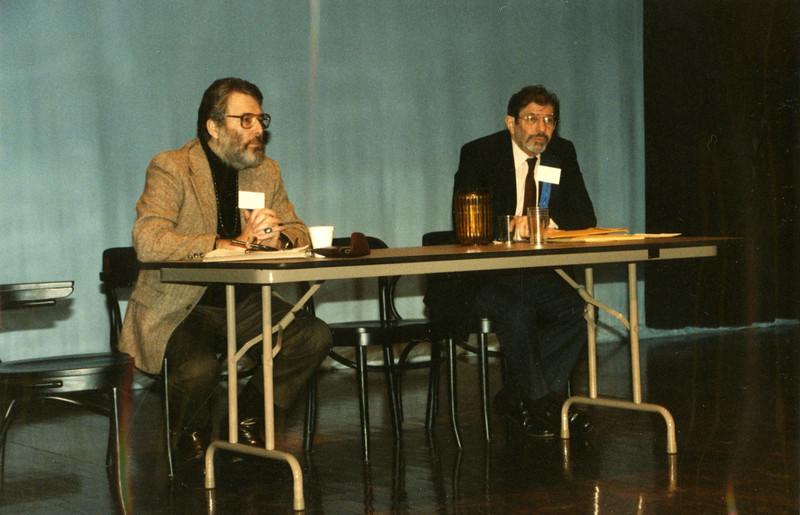 Sanford Berman (Hennepin County PL) and Ben Lightman (Time/Life Corp.)