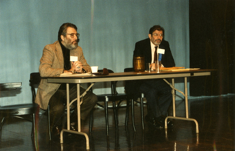 Sanford Berman (Hennepin County PL) and Ben Lightman (Time/Life Corp.)