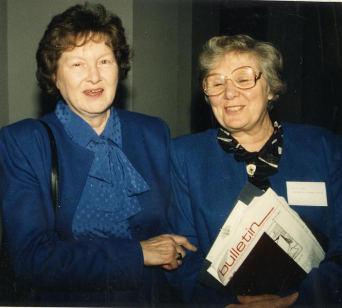 Dot Bergin and Dorothy Cowe