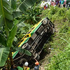 Basak Pardo bus fell off ravine