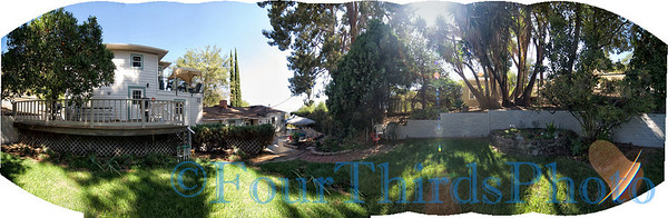 Back Yard Pano