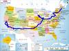 USA Ride Map