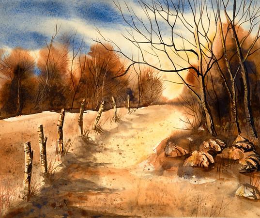 Ada Brammer watercolors