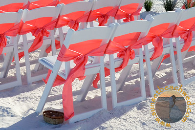 Coral Chair Sash