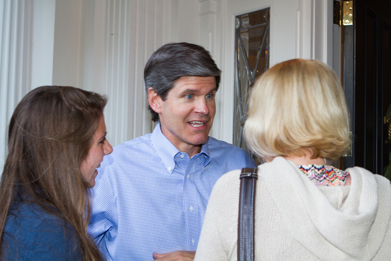 Jeff welcomed newly admitted students and their parents.
