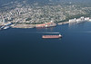 Vancouver aerial. Port of Vancouver