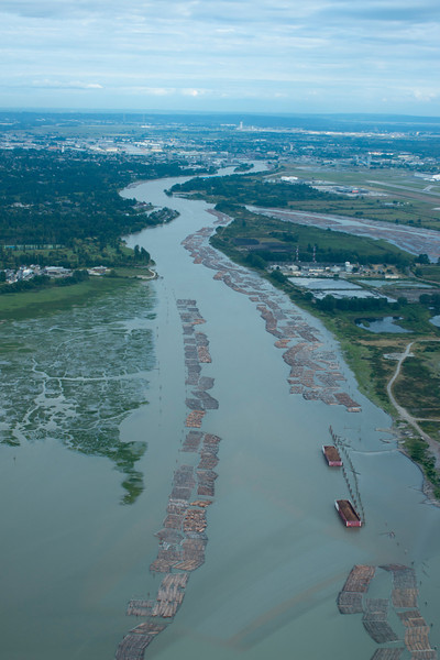 North Arm of the Fraser River.