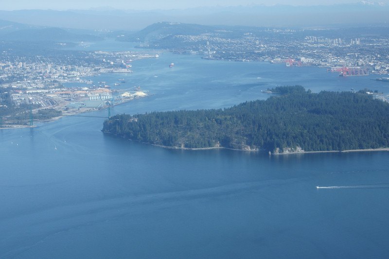 Vancouver, Stanley Park and Lions Gate Bridge