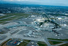 Vancouver International Airport YVR from the air.