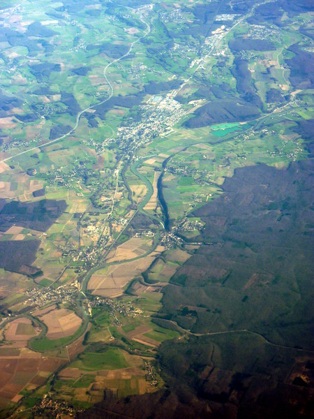 From top to bottom: Dannemarie-sur-Crete, Saint-Vit, Roset-Fluans, Evans, Salans, Chateauneuf, Fraisans, Dampierre, Ranchot, Rans, Monteplain, Doubs River