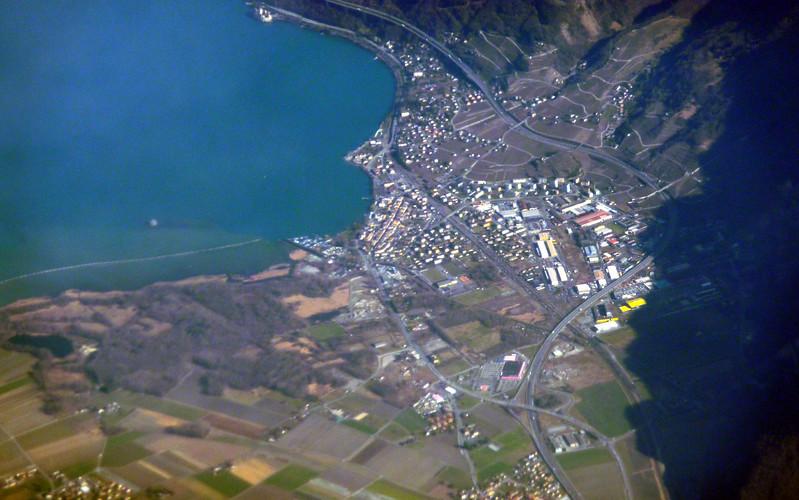 Villeneuve, Swizterland, Lake Geneva