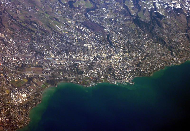 Saint-Sulpice (left), Lausanne, Switzerland